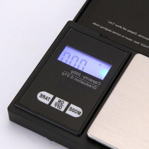 LCD Food Weighing Scale