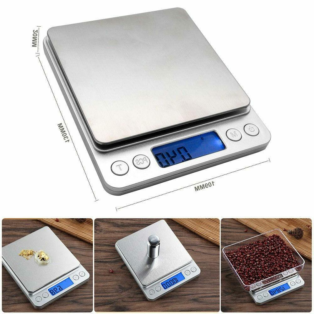 500g LCD Electronic Kitchen Cooking Food