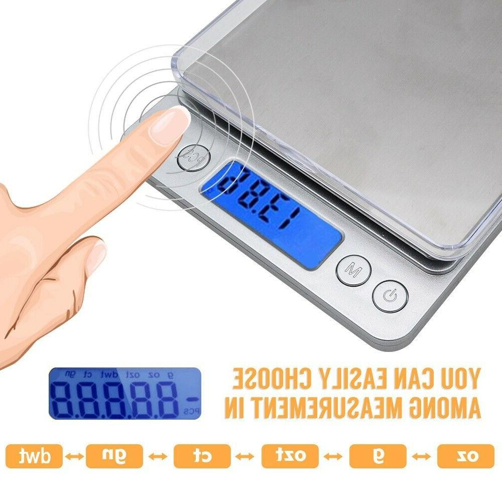 500g LCD Electronic Food