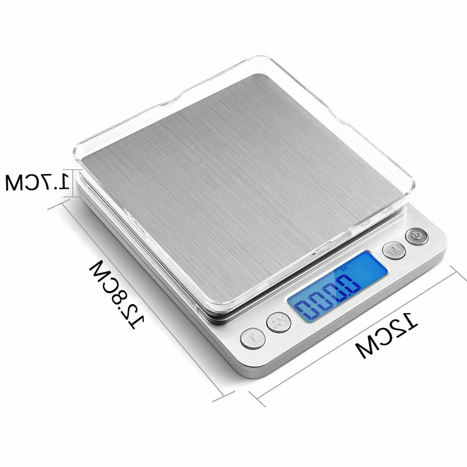 500g Stainless Steel Food Weighing