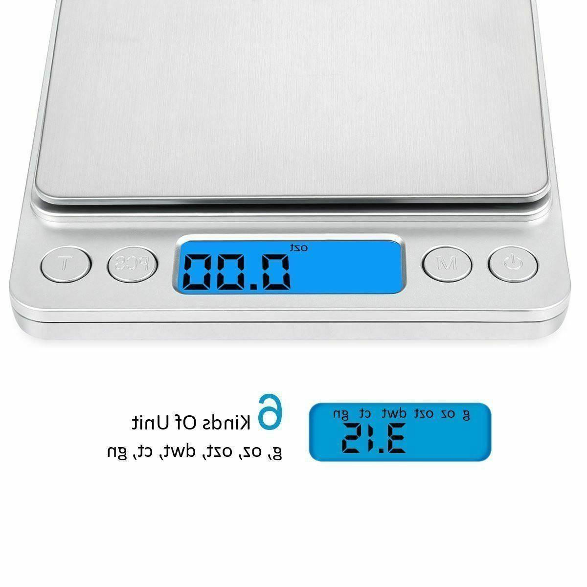 500g LCD Food Weighing