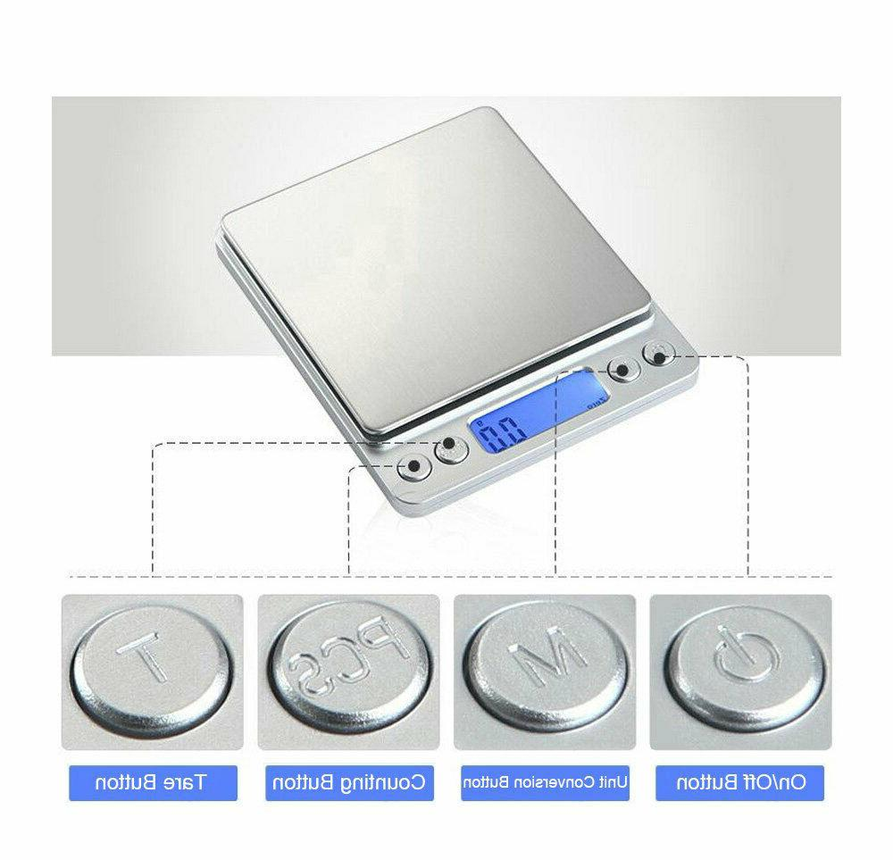 500g LCD Kitchen Food Scales