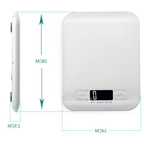 5kg Electronic Kitchen Food Scale Weight