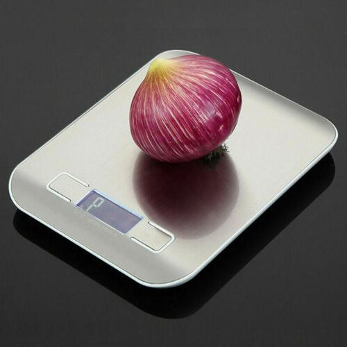 5kg digital scale cooking measure tool stainless