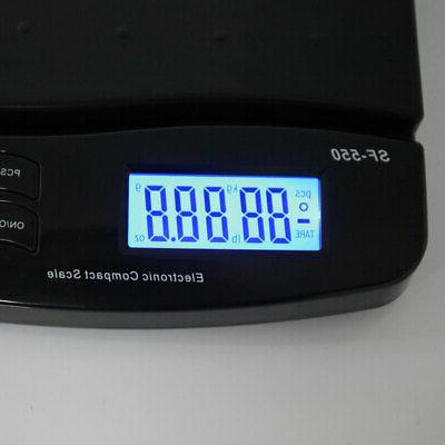 66lb Postal Shipping Scale 30kg Weigh + Adapter