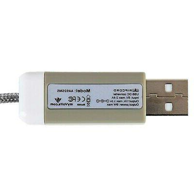 7.5V USB cable for 55