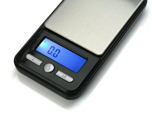 American Scale Digital Gram Scale, Black, 0.1 G