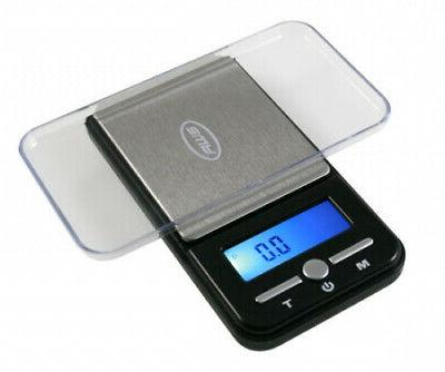American Weigh Scale Ac-650 Digital Pocket Gram Scale, Black
