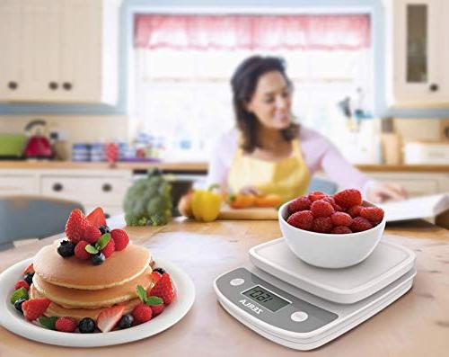 Digital Kitchen Scale Zerla Versatile Food Scale Weigh Liquids, Weight Scale within oz. — Great Adkins Loss Programs Portion