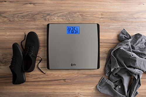 EatSmart Precision 550 Extra-High Bathroom Scale with Platform
