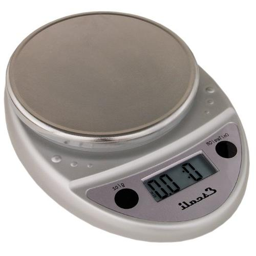 Escali Primo Digital Kitchen Scale for Baking, Cooking Mail - Lightweight Durable ltd. Warranty