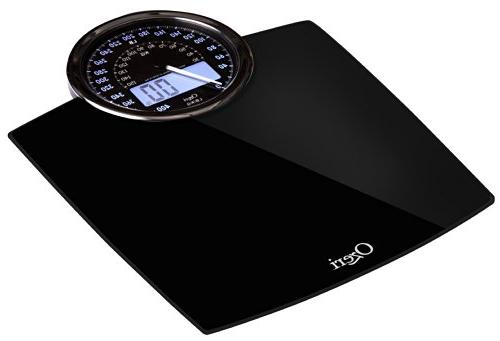 Ozeri Rev Bathroom Weight Dial and gram Technology