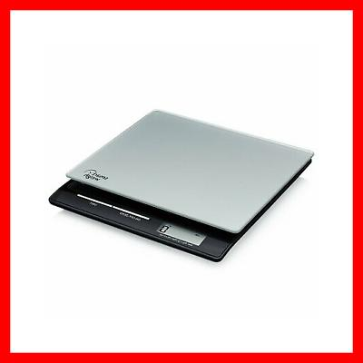 Smart Professional USPS Postal with Tempered Glass Platform, Modes and Silver Shipping Scale, Scale,