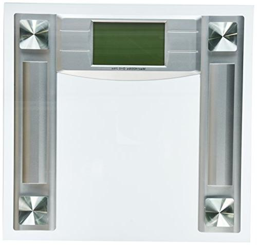 BalanceFrom Bathroom Scale with Step-On Technology Backlight Display, 400