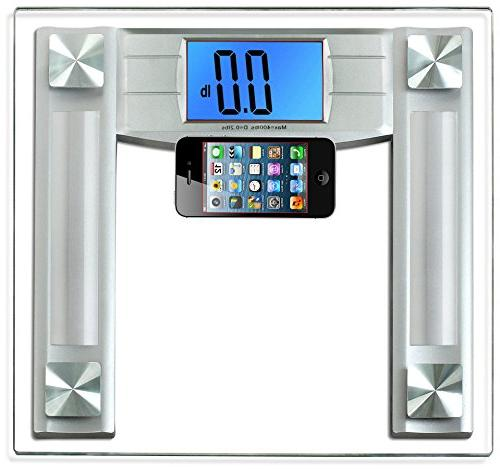 BalanceFrom Body Bathroom Scale with Technology 400 Pounds,