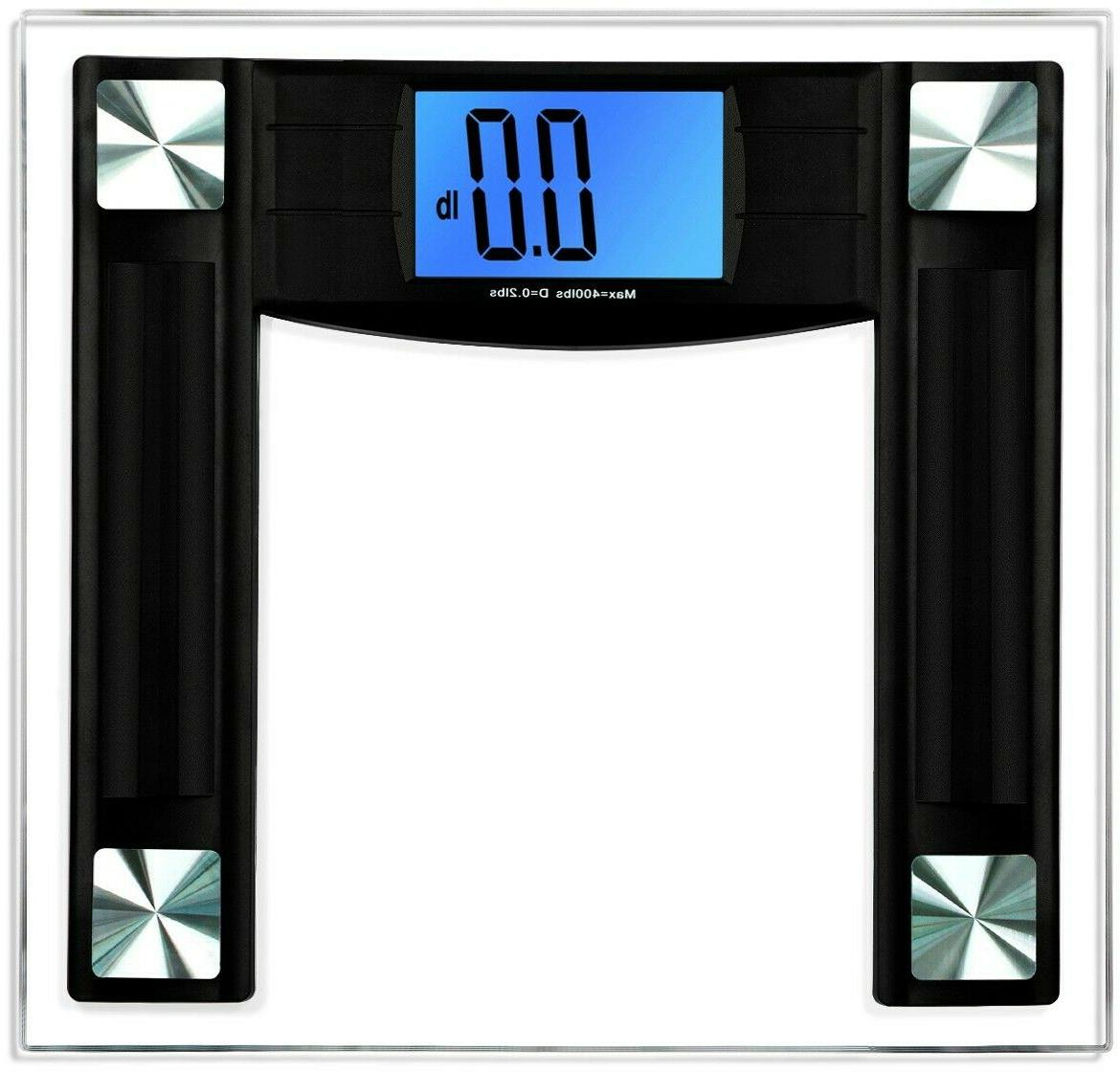 BalanceFrom Digital Body Weight Bathroom Scale with Step-On Technology and