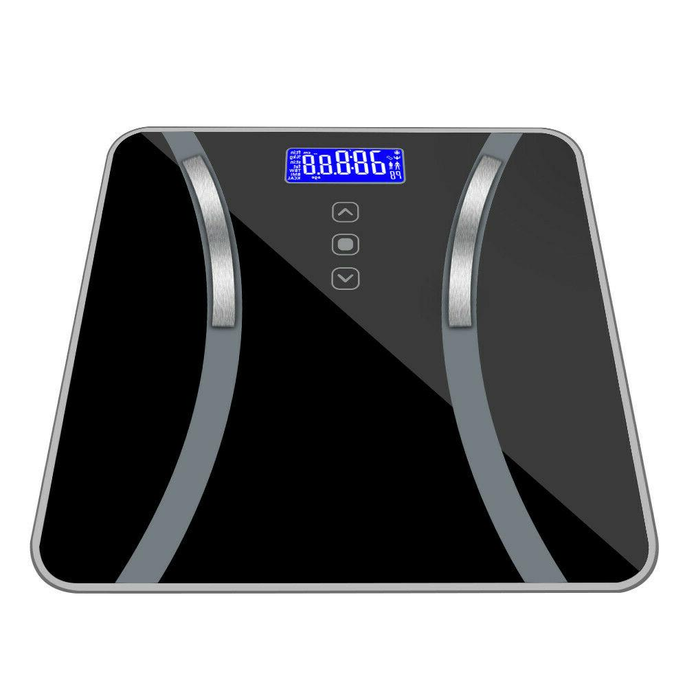 accurate body bathroom fat weight scale monitor