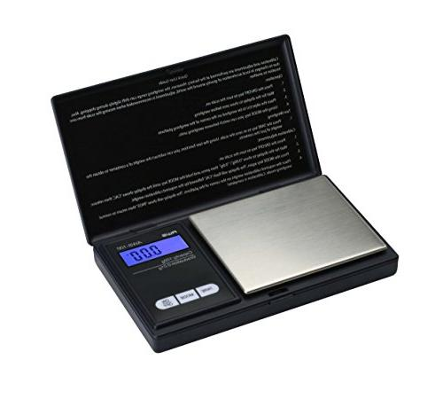 American Weigh Digital Scale Black