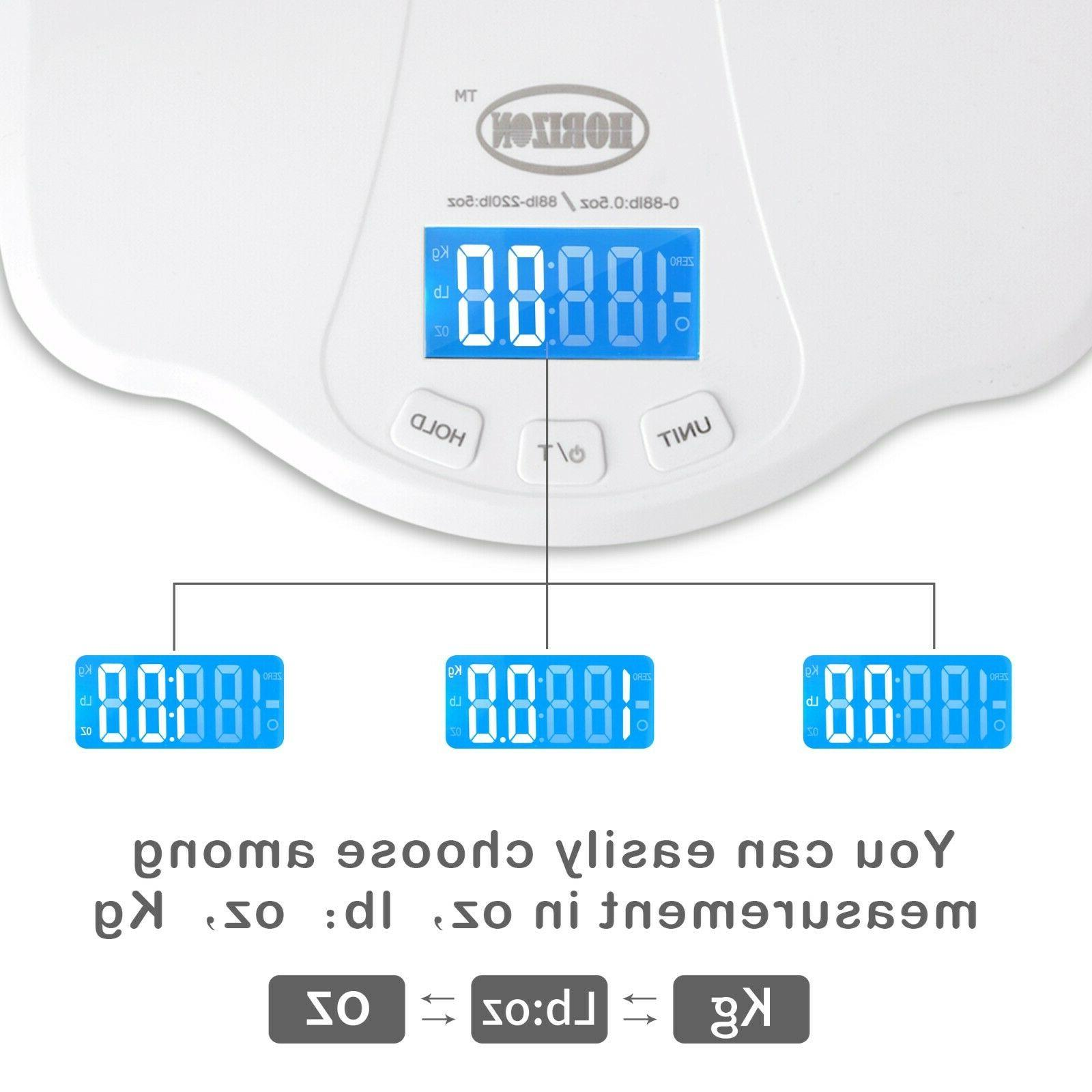 Baby Scale High Accuracy LCD Display lbs