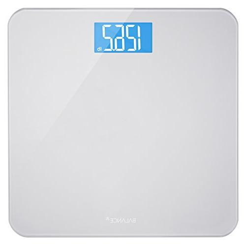 backlit bathroom scale