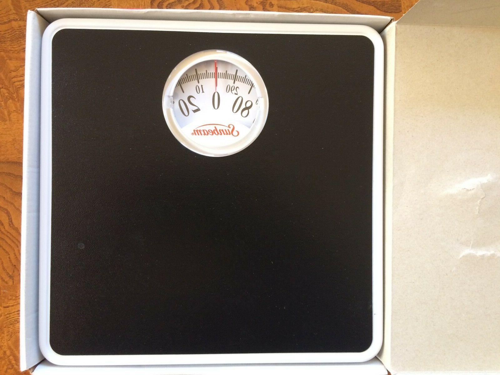 Sunbeam Easy Dial Analog Body Scale Home