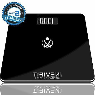 BATHROOM SCALE, Highly Accurate Digital Bathroom Body Scale,