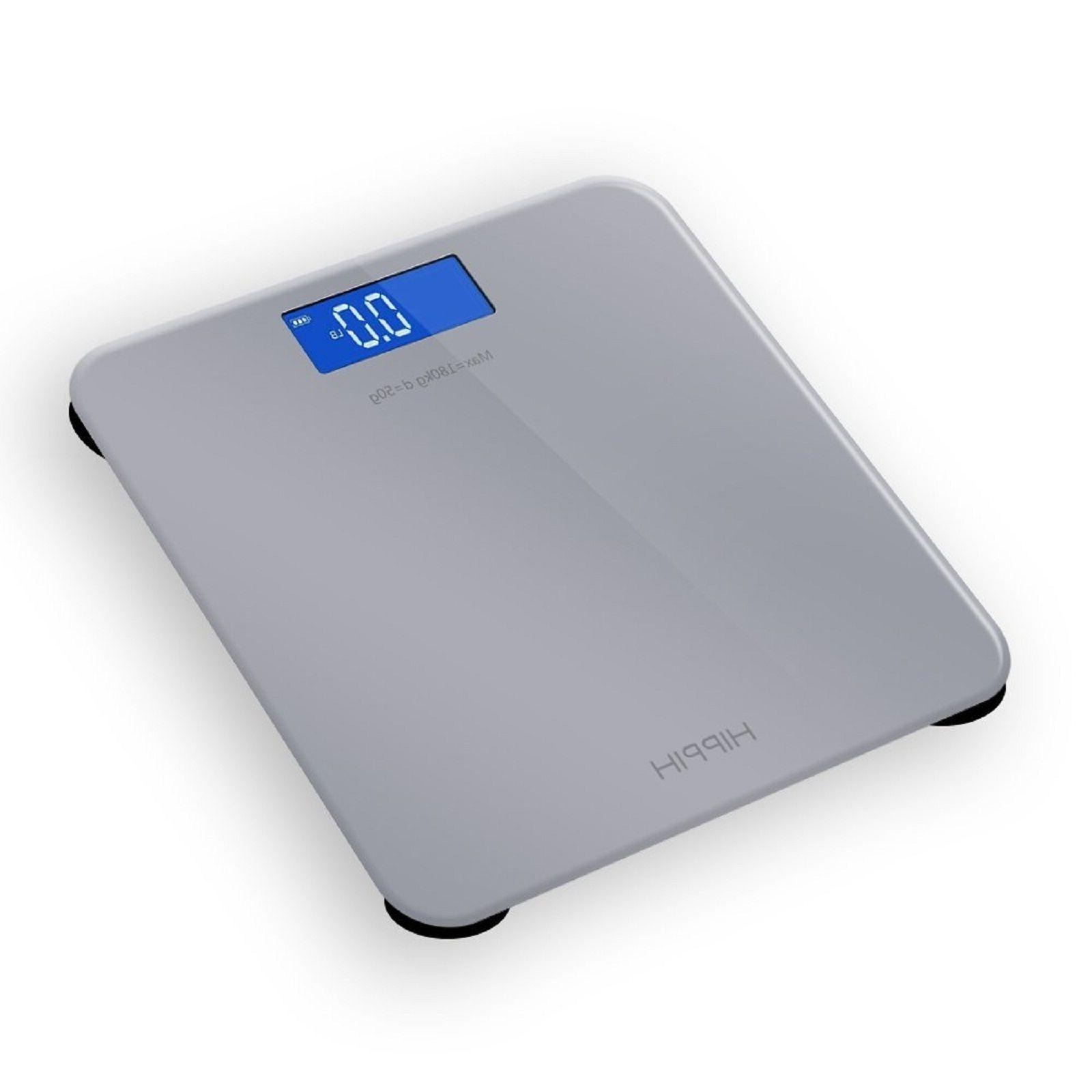 Digital Bathroom Body Weight LCD Electronic Fitness Fat