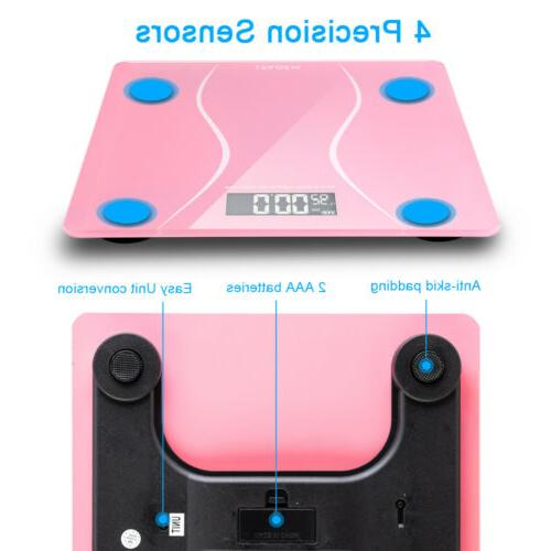 Bathroom Personal Scale LCD + 2 x