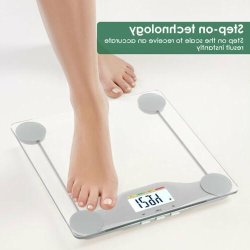 Body Weight Scale Glass