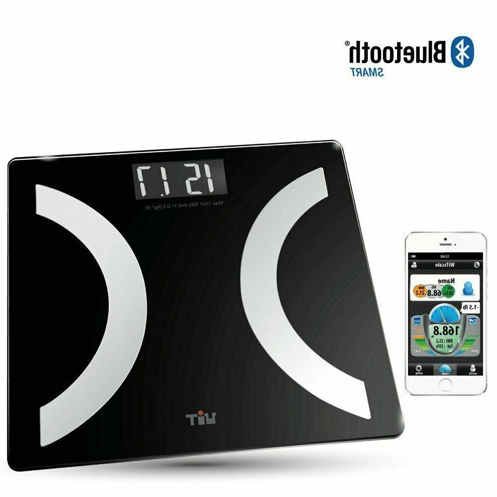 Bathroom Weight Scale Smart Body Fat BMI Fitness