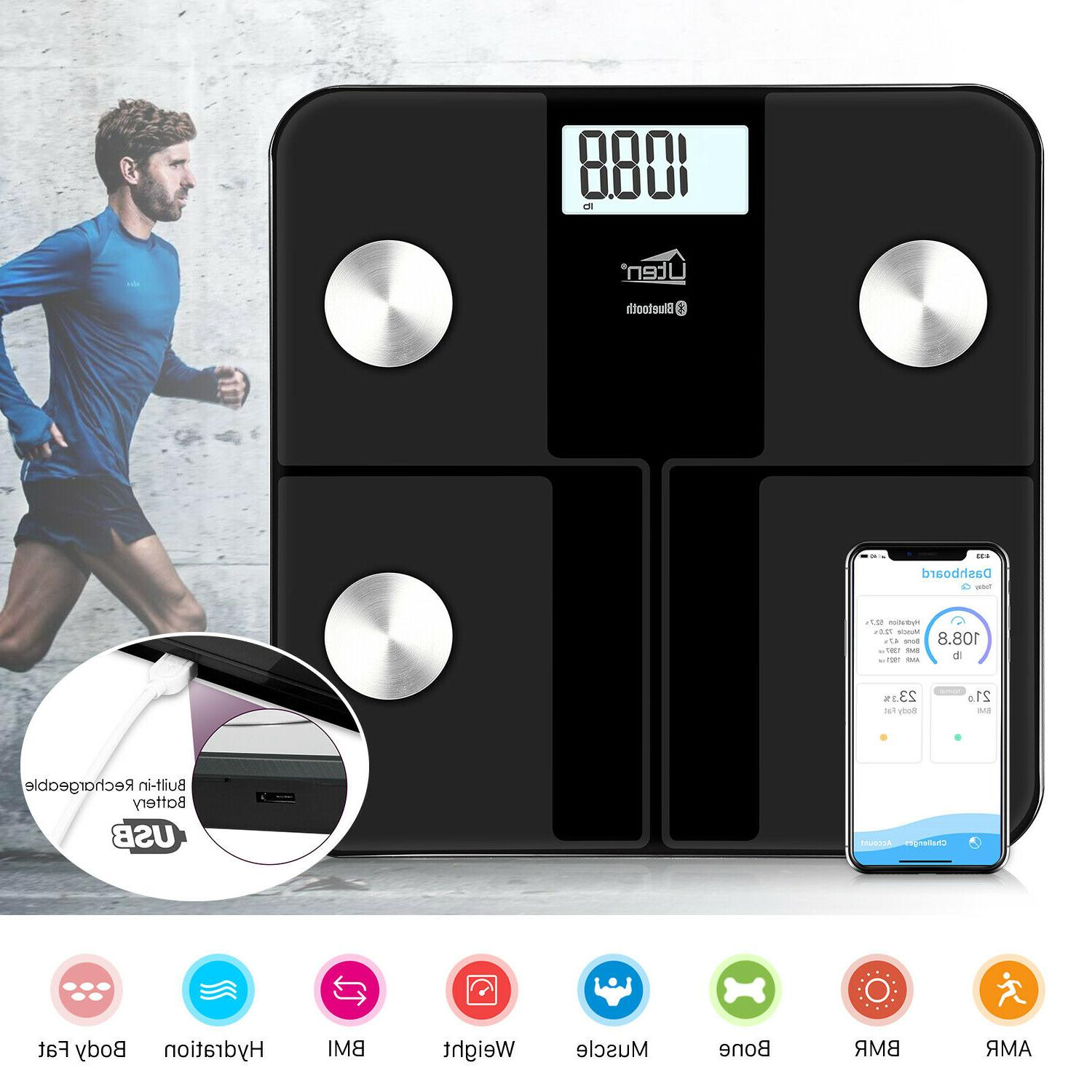 bluetooth body fat weight scale electronic smart