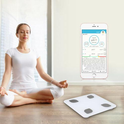 Home Office Smart Bluetooth Body Fat Scale Body Composition