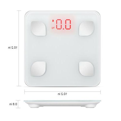 Bluetooth Body Fat Body Composition Analyzer Health Monitor Scales