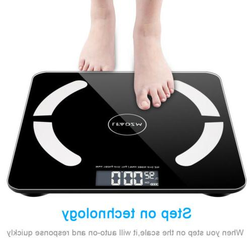 digital scale body fat muscel bluetooth smart