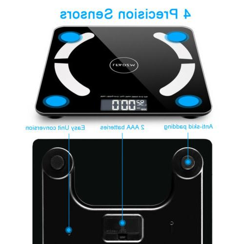 Bathroom Scales Weight Smart BMI Digital