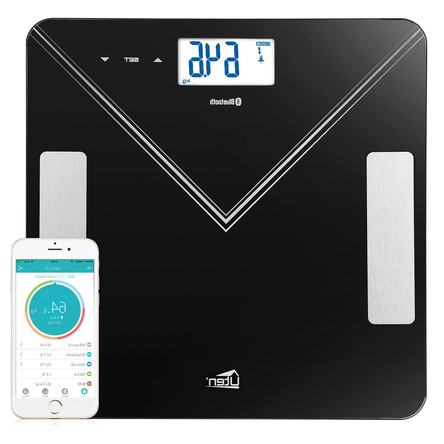 Bluetooth Smart Scale Bathroom Scale BMI