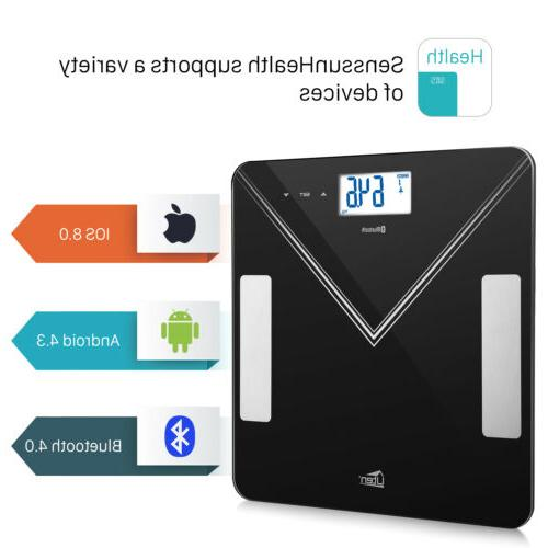 Smart Scale Bones BMI Digital Bluetooth Fitness US