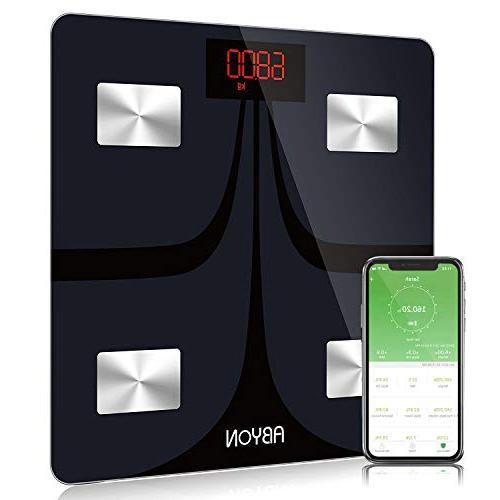 bluetooth smart scales fat scale