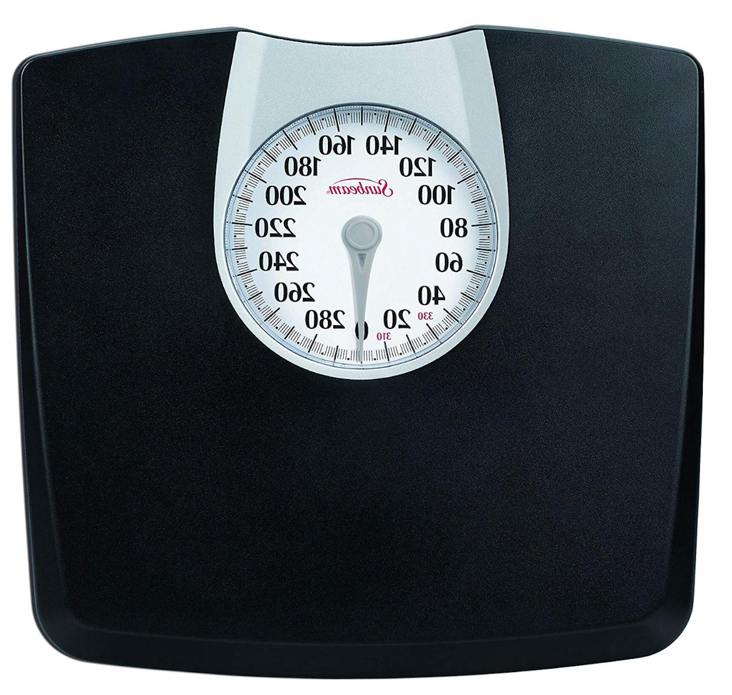 Body Weight Fitness Analog Dial