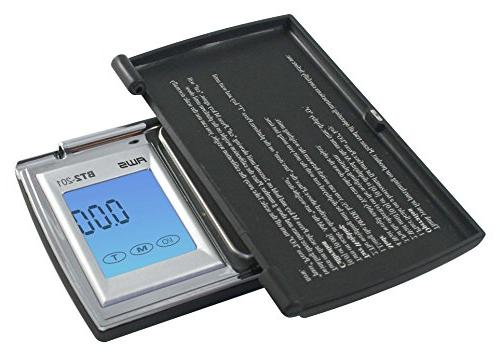 American Weigh Scales Digital Pocket Black,