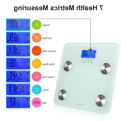 Digital Body Fat Weight Scale Electronic LCD Health Fitness