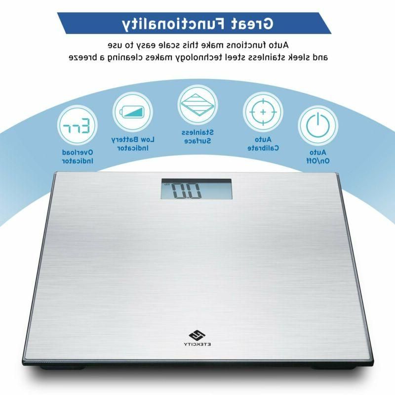 Digital Body Scale Stainless Technology