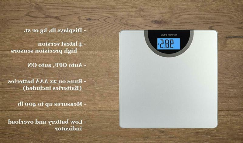 BalanceFrom Body Weight Bathroom Scale with Technology