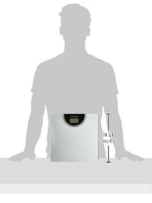 BalanceFrom Body Weight Bathroom Scale with Technology Silver