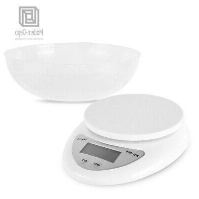 Digital Electronic Kitchen Food with Bowl AAA Batteries
