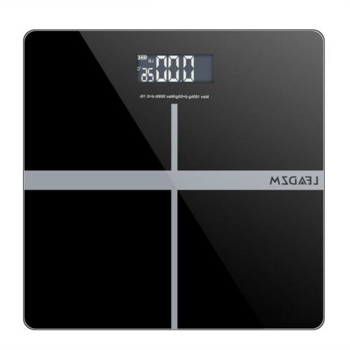 digital electronic lcd personal bathroom body weight