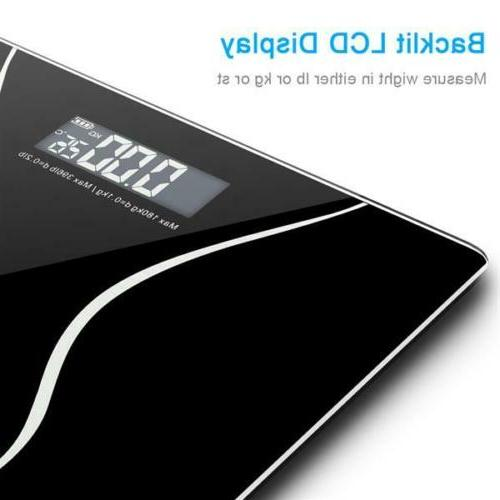 Digital Glass Bathroom Weight Weighing Scales