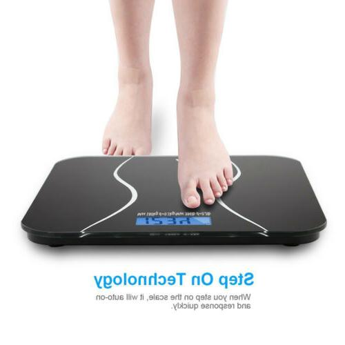 Digital Electronic Glass Bathroom Weighing Scales