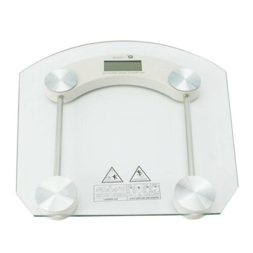digital glass lcd indoor weight body bathroom