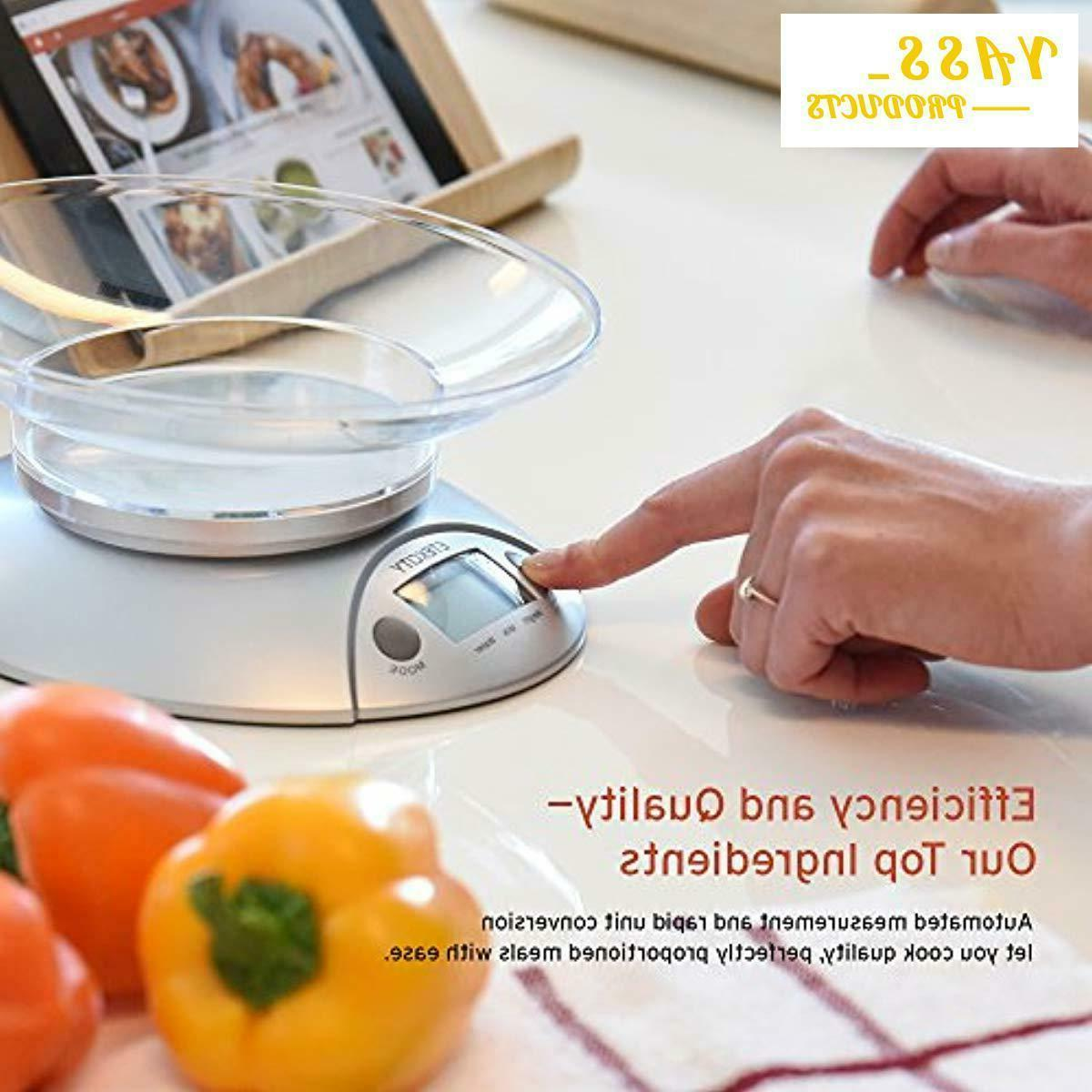 Digital Kitchen and Multifunction Weight Scale with Removable